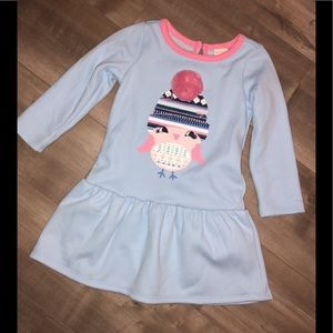 Nwt Gymboree winter owl dress